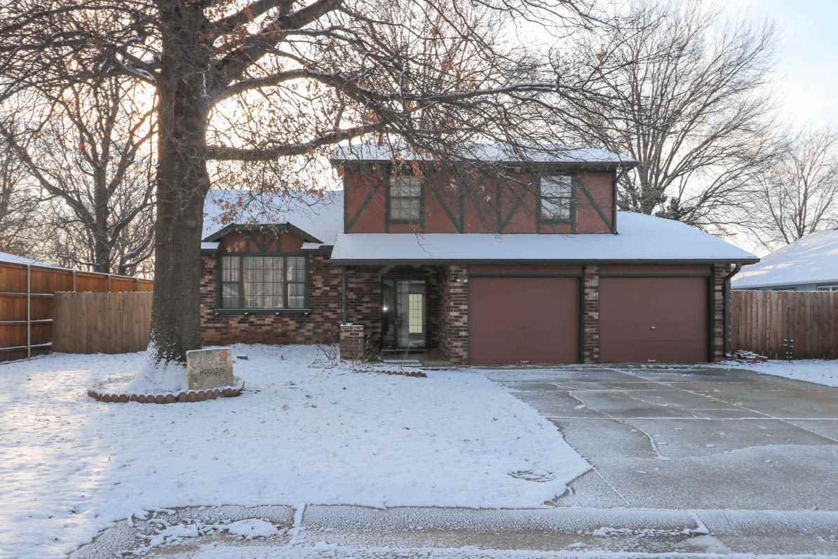 Roomy quad level home ready for your cosmetic touches.  Recently has had exterior paint & newer A/C