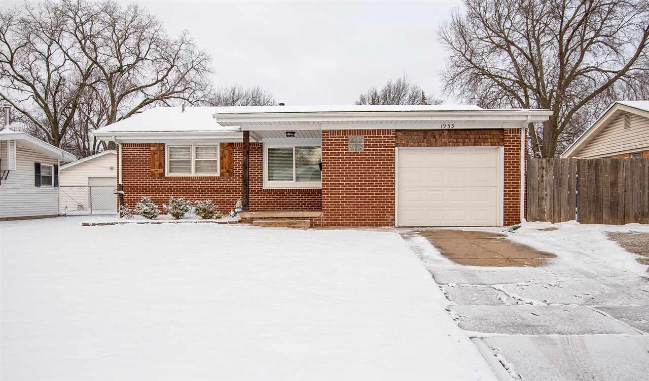 Take a look at this move in ready all brick home with basement in NW Wichita. If you are looking for