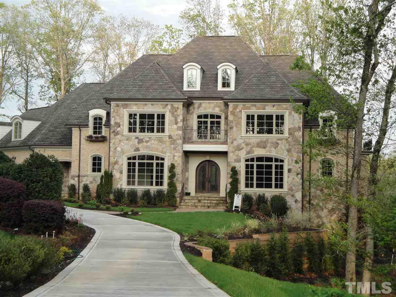 All brick and brick front homes for sale in raleigh nc for Luxury house builders