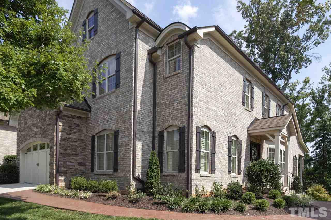 Tryon villas luxury townhomes homes for sale in cary nc for Luxury townhomes for sale
