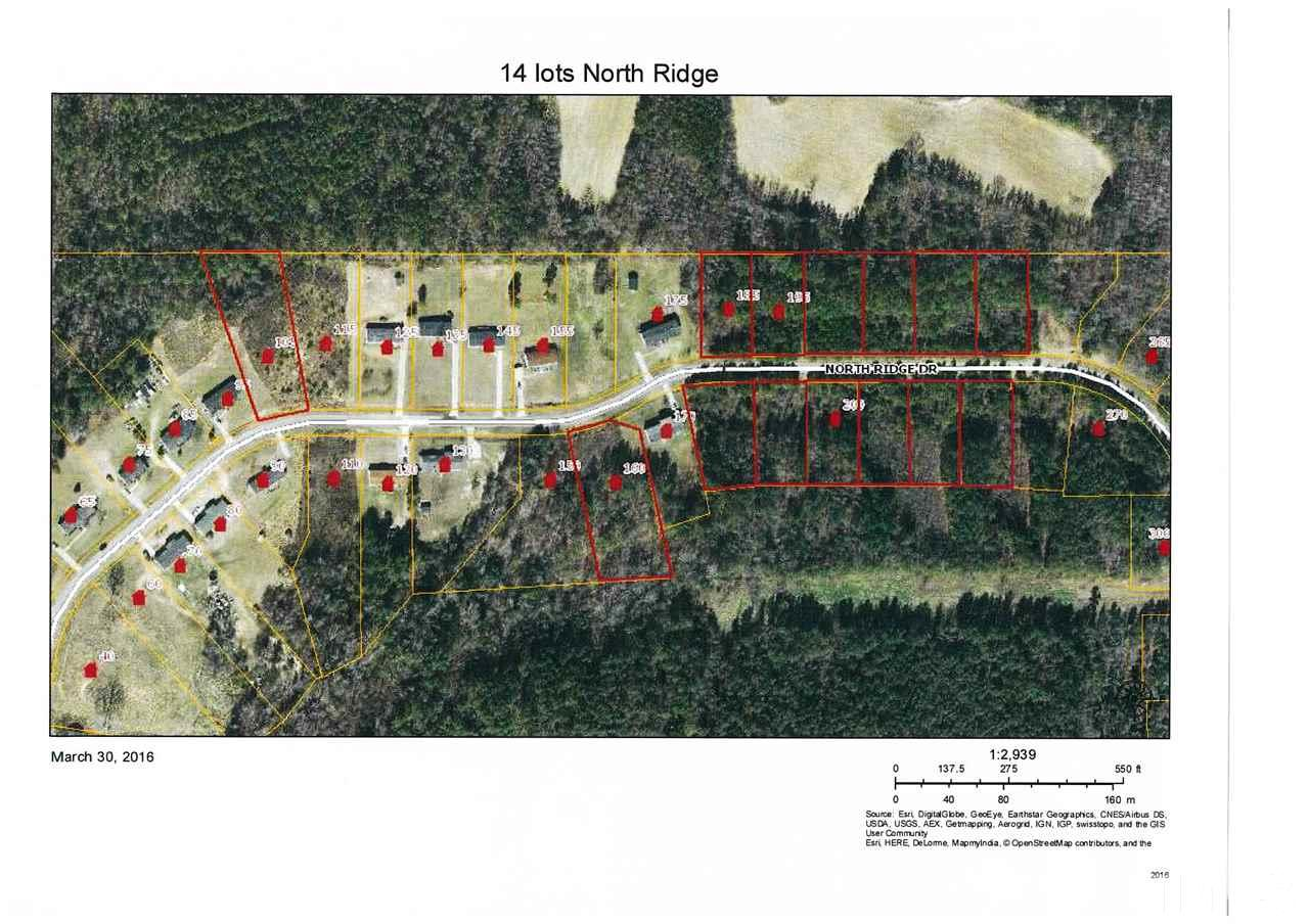 Property for sale at 185 North Ridge Drive, Louisburg,  NC 27549