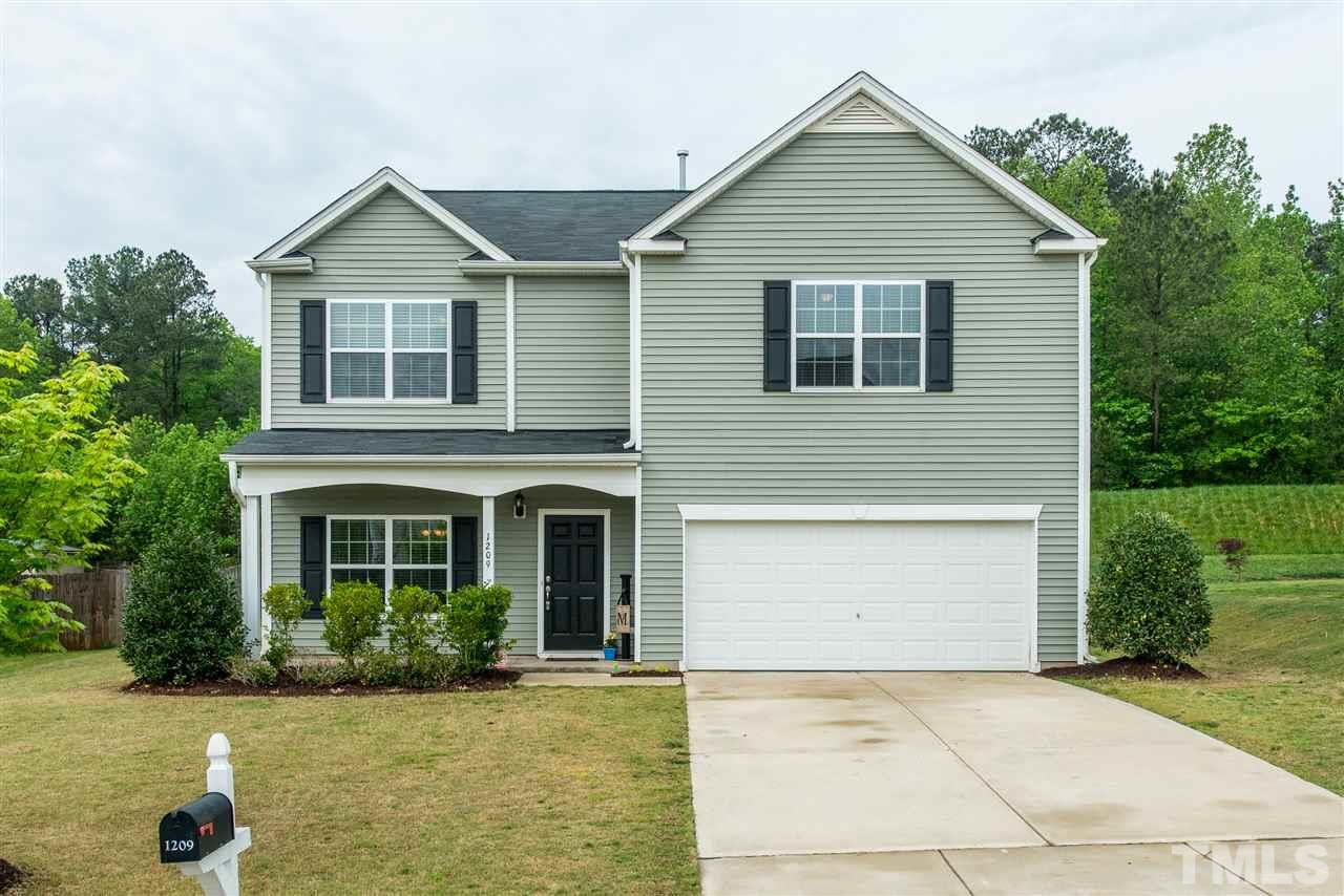 1209 CRENDALL WAY, WAKE FOREST, NC 27587