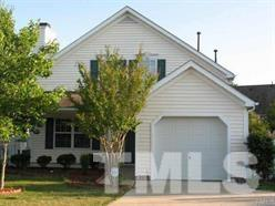 This 2-story home is located in the desirable Hope Valley Farms community. Very convenient location with easy access to I-40, RTP, South Point Shopping Mall, etc. 1st FLOOR MASTER A PLUS, partial hardwoods, patio, fenced back yard, covered porch, 1-car garage, and deck with trellis.