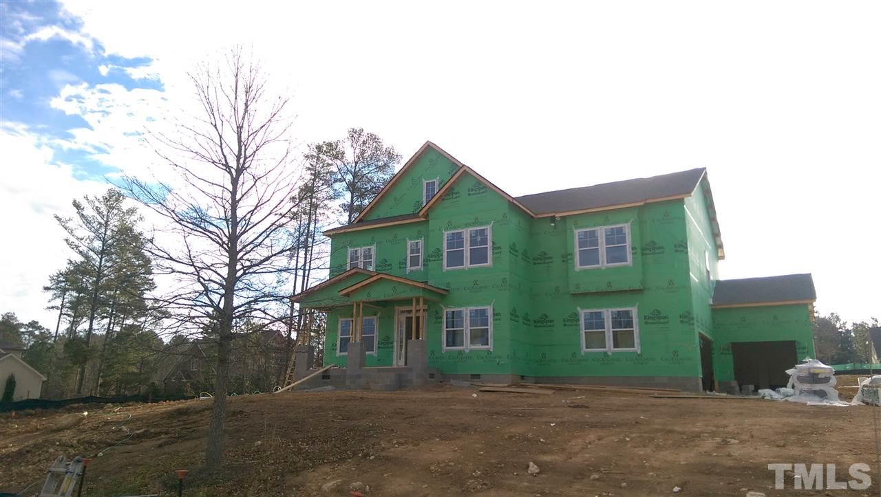 Photo of home for sale at 19 Holiday Drive S, Pittsboro NC