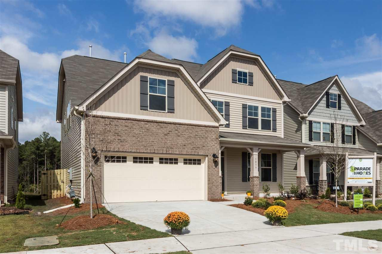 Photo of home for sale at 1039 Laredo Lane, Durham NC