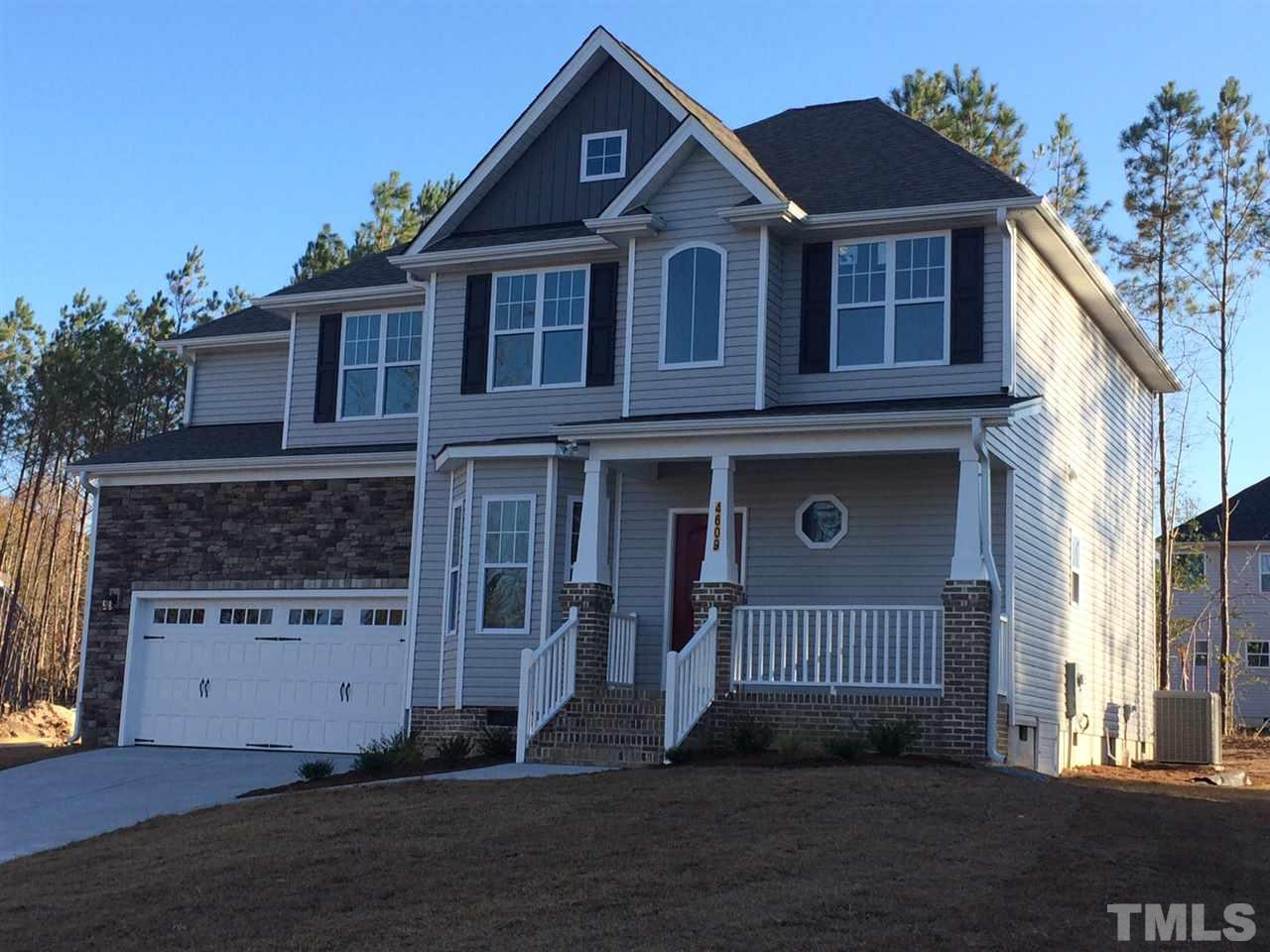 Photo of home for sale at 4609 Harris Creek Court, Raleigh NC