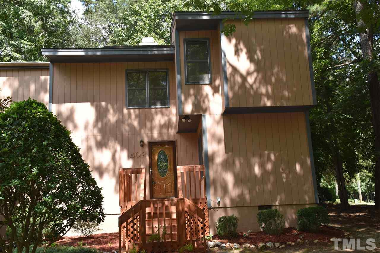 Photo of home for sale at 502 Pebble Creek, Cary NC