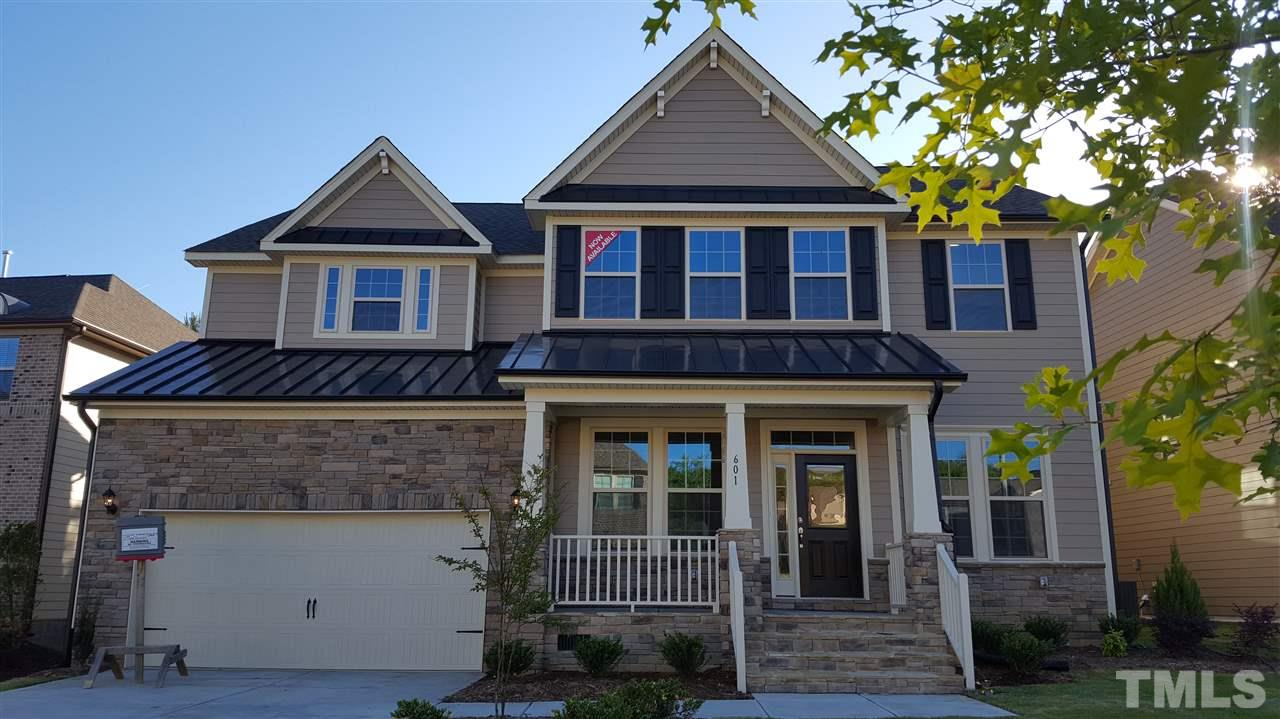 Photo of home for sale at 601 Wildwood Farm Way, Holly Springs NC