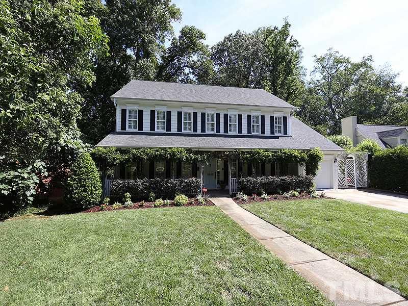 Photo of home for sale at 2805 Rothgeb Drive, Raleigh NC