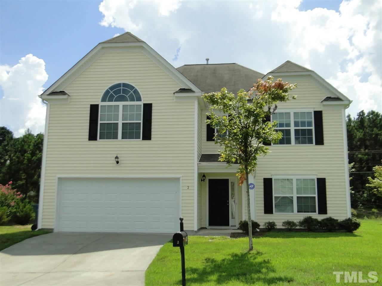 Photo of home for sale at 2 Bevel Court, Durham NC