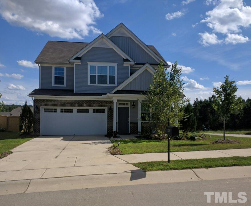 Photo of home for sale at 325 Holly Blossom Drive, Durham NC