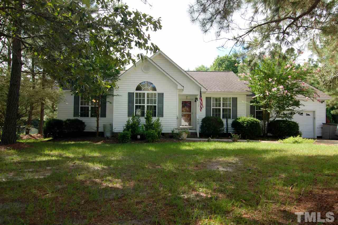 Photo of home for sale at 360 Parrish Farm Lane, Benson NC