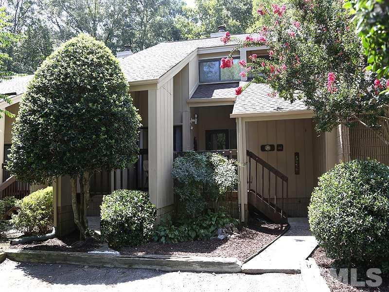Photo of home for sale at 4100 Five Oaks Drive, Durham NC