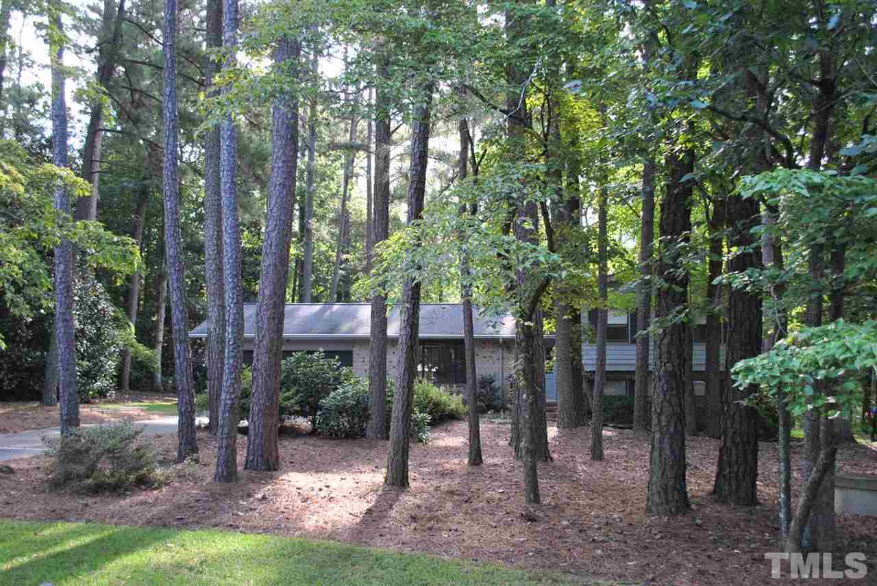 Photo of home for sale at 7778 Brookdale Drive, Raleigh NC