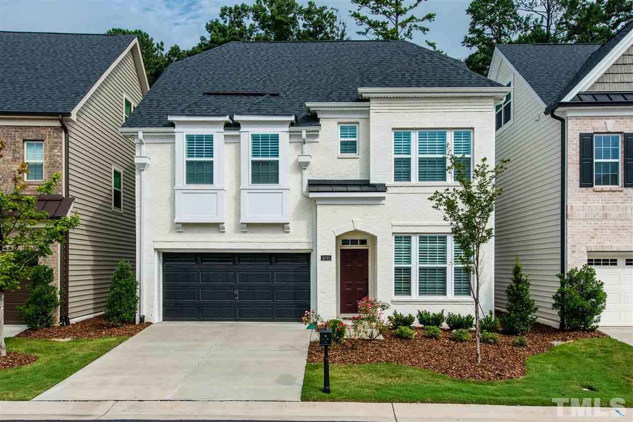Photo of home for sale at 4045 Periwinkle Blue Lane, Raleigh NC