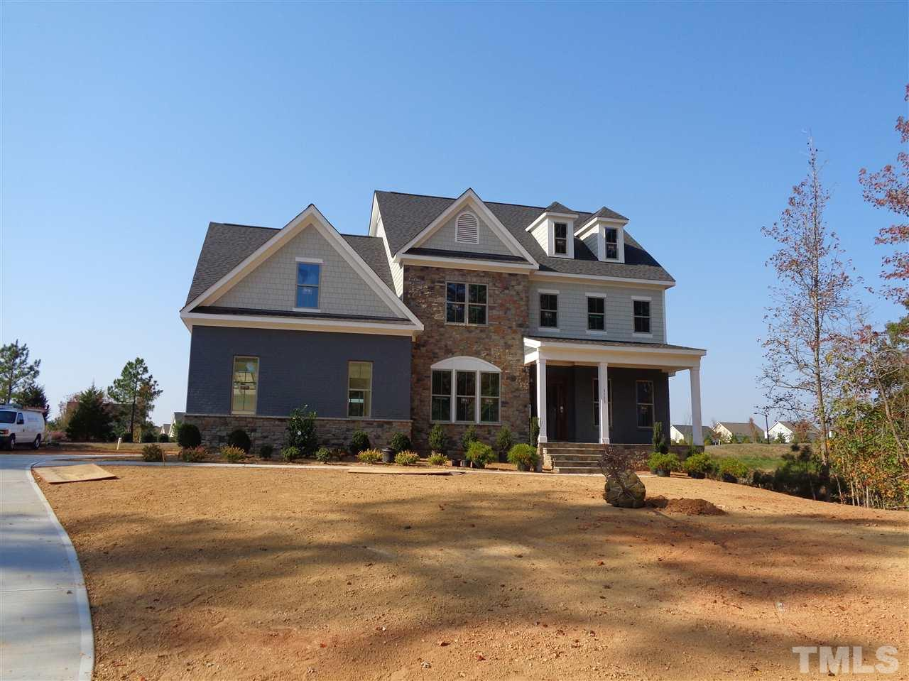Photo of home for sale at 1113 Grande Water Way, Wake Forest NC