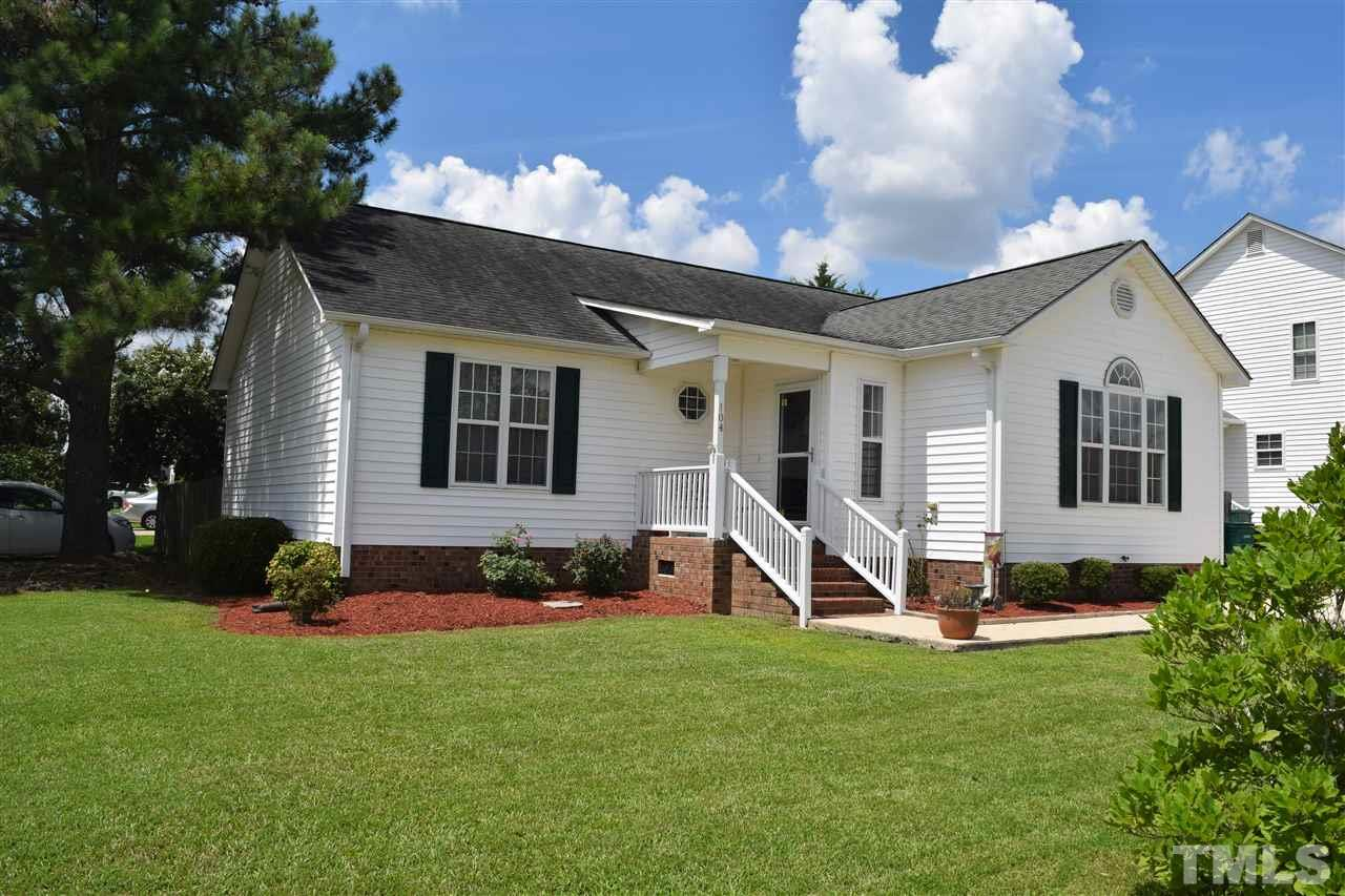 Photo of home for sale at 104 Waterford Drive, Clayton NC