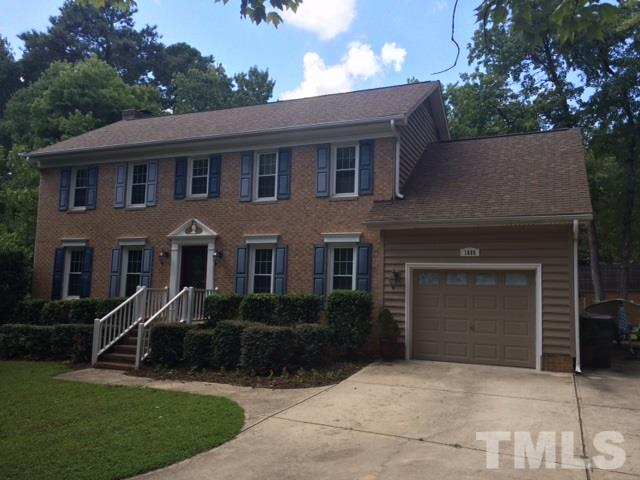 Photo of home for sale at 1608 Bowdoin Drive, Raleigh NC