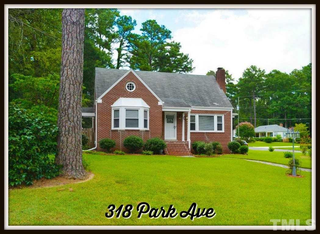 Photo of home for sale at 318 Park Avenue, Sanford NC