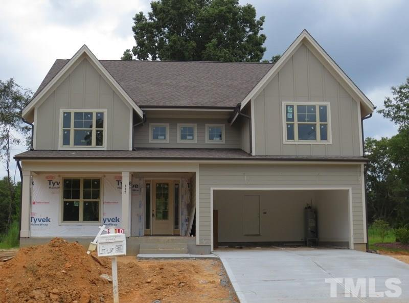 Photo of home for sale at 117 Highland Ridge Lane, Knightdale NC
