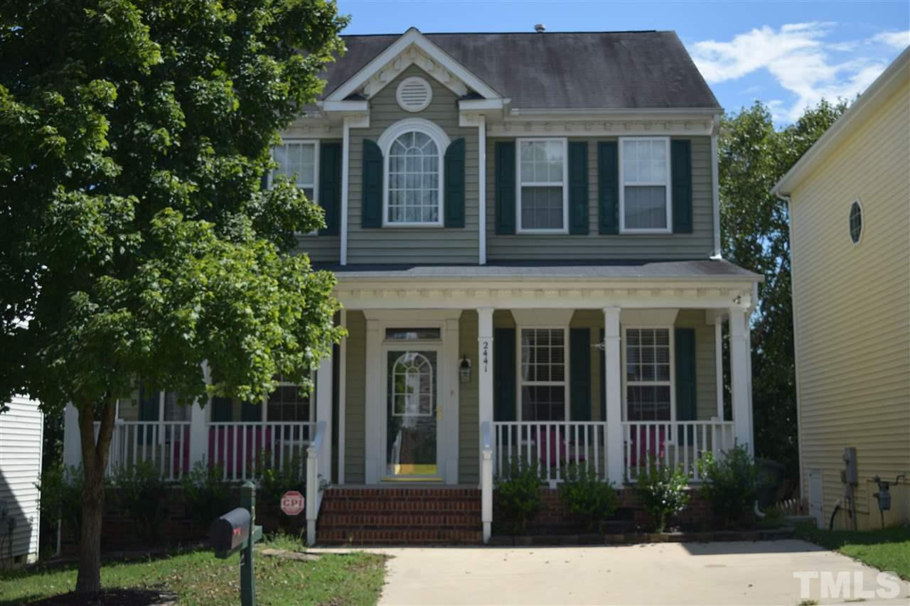 Photo of home for sale at 2441 Sapphire Valley Drive, Raleigh NC