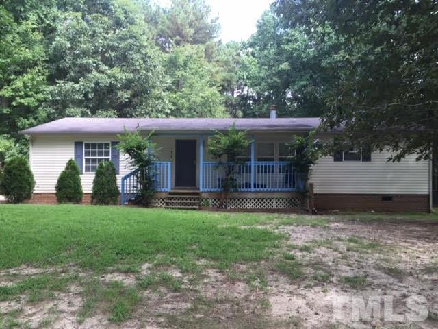 Photo of home for sale at 634 Lawrence Road, Wake Forest NC