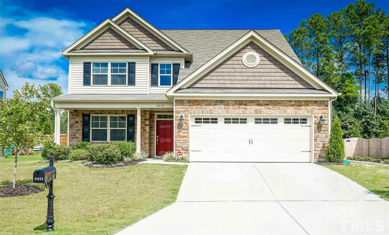 Photo of home for sale at 2452 Everstone Road, Wake Forest NC