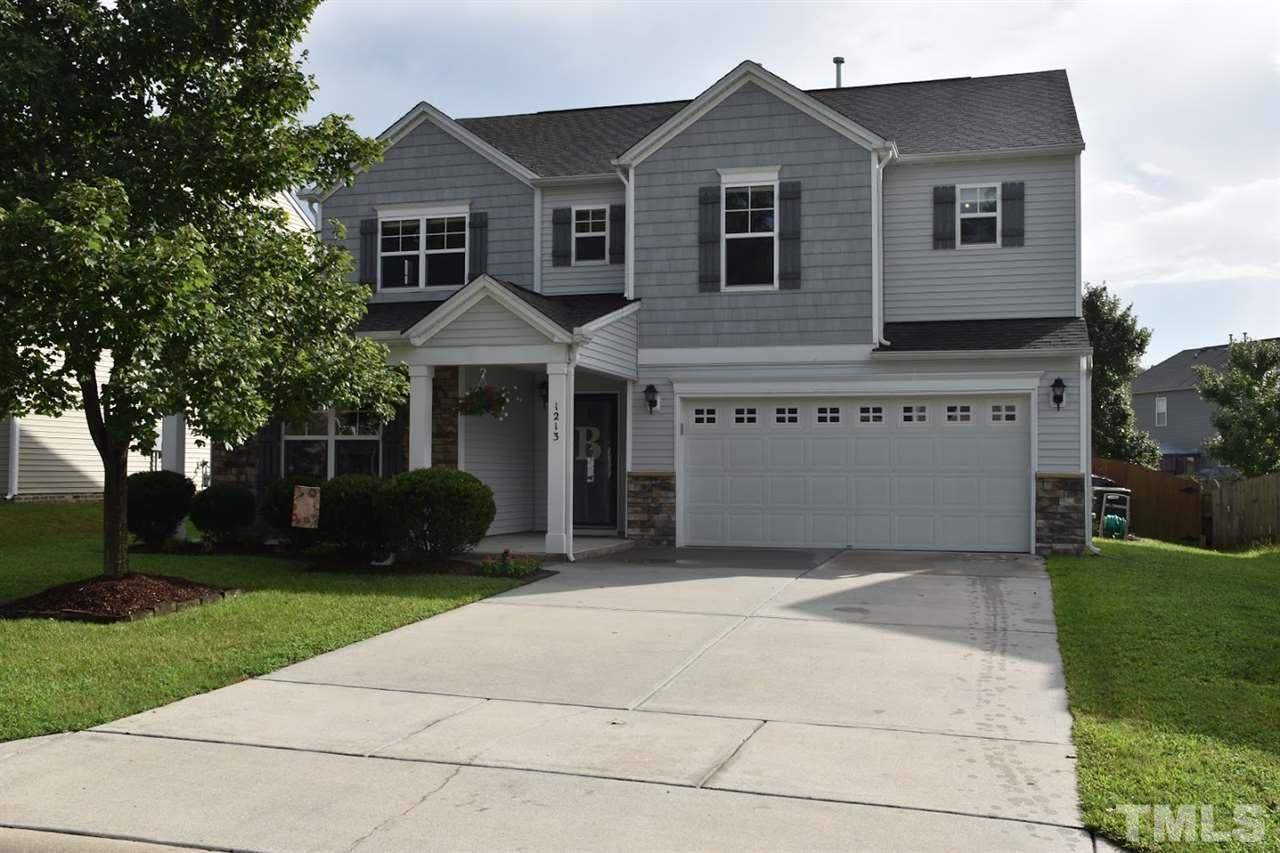 Photo of home for sale at 1213 Sunday Silence Drive, Knightdale NC