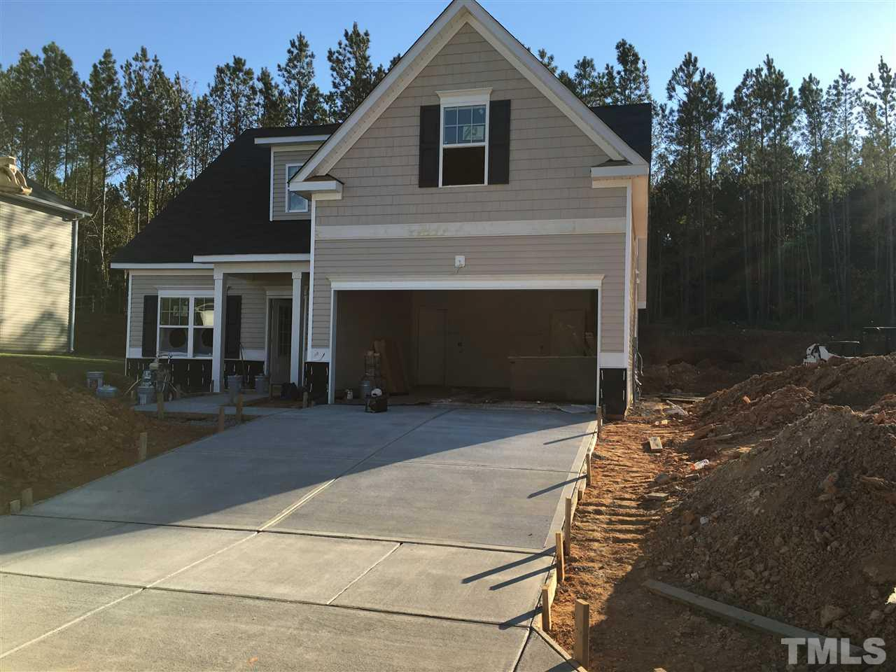 Photo of home for sale at 175 Cascade Knoll Drive, Clayton NC