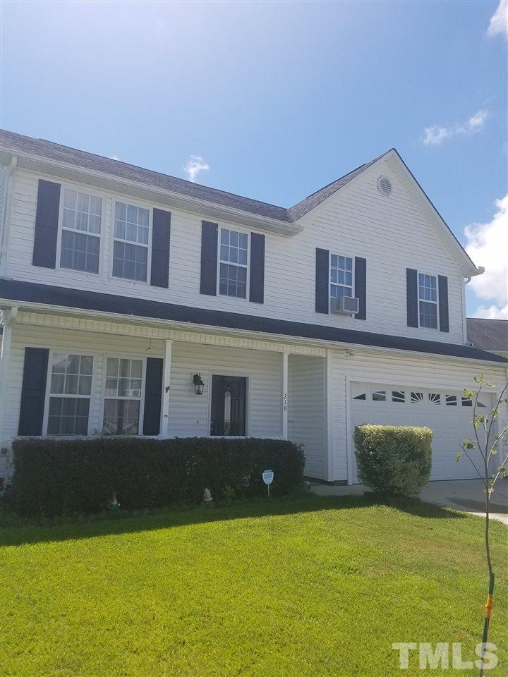 Photo of home for sale at 218 Mayors Lane, Wendell NC