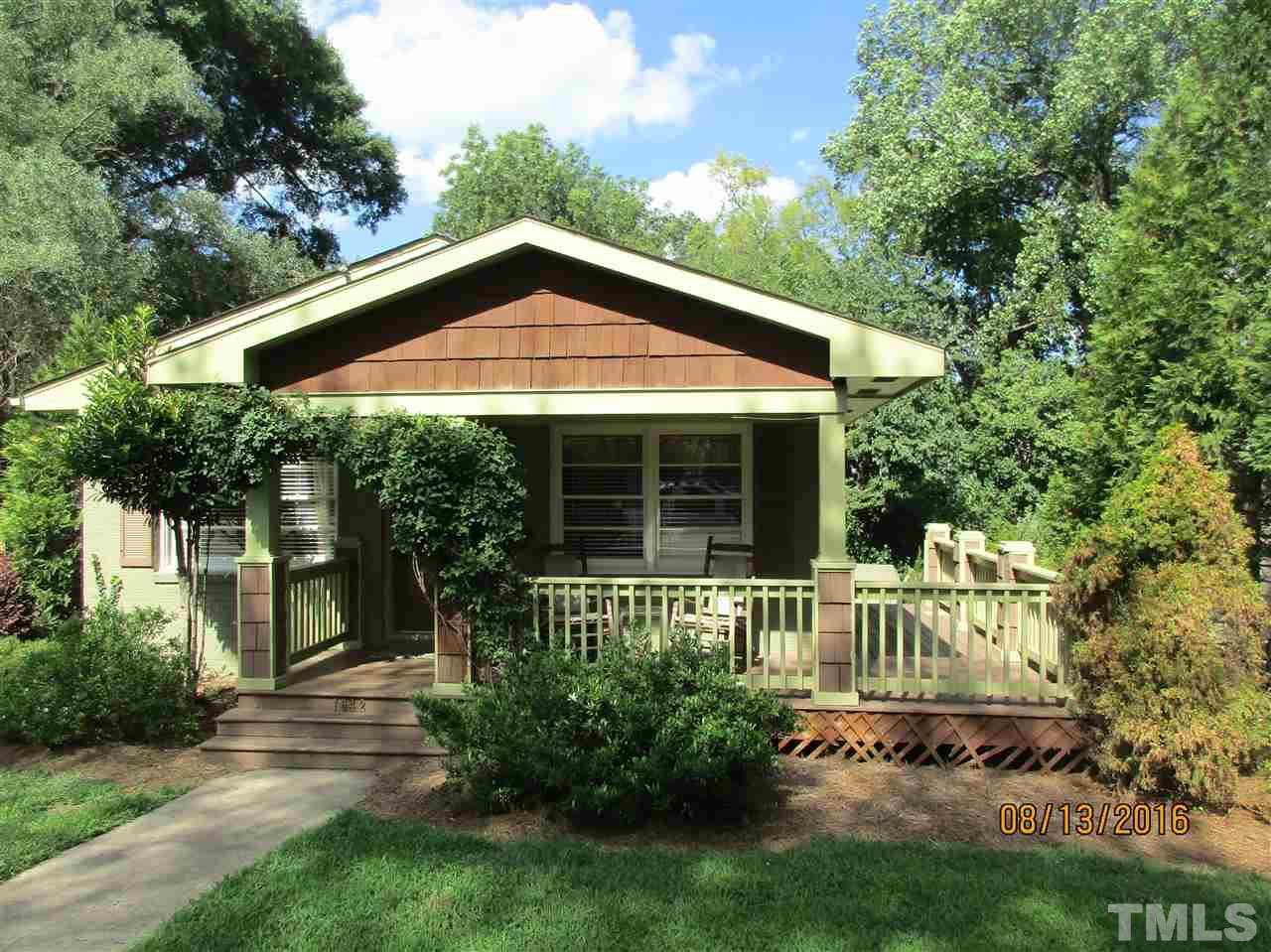 Photo of home for sale at 1642 Bickett Boulevard, Raleigh NC