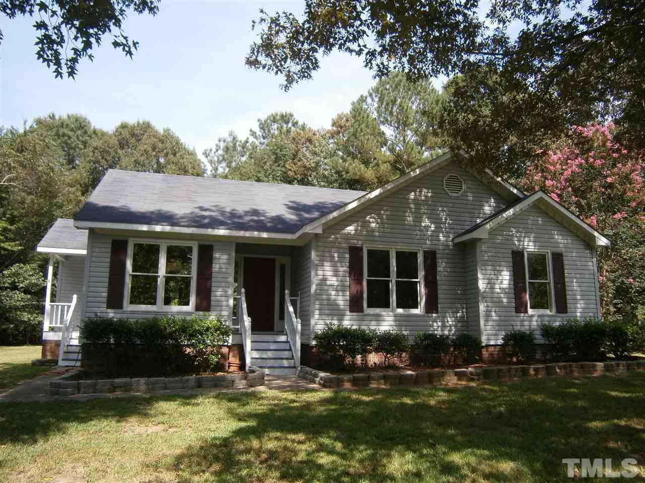 Photo of home for sale at 2123 Canterbury Road, Clayton NC