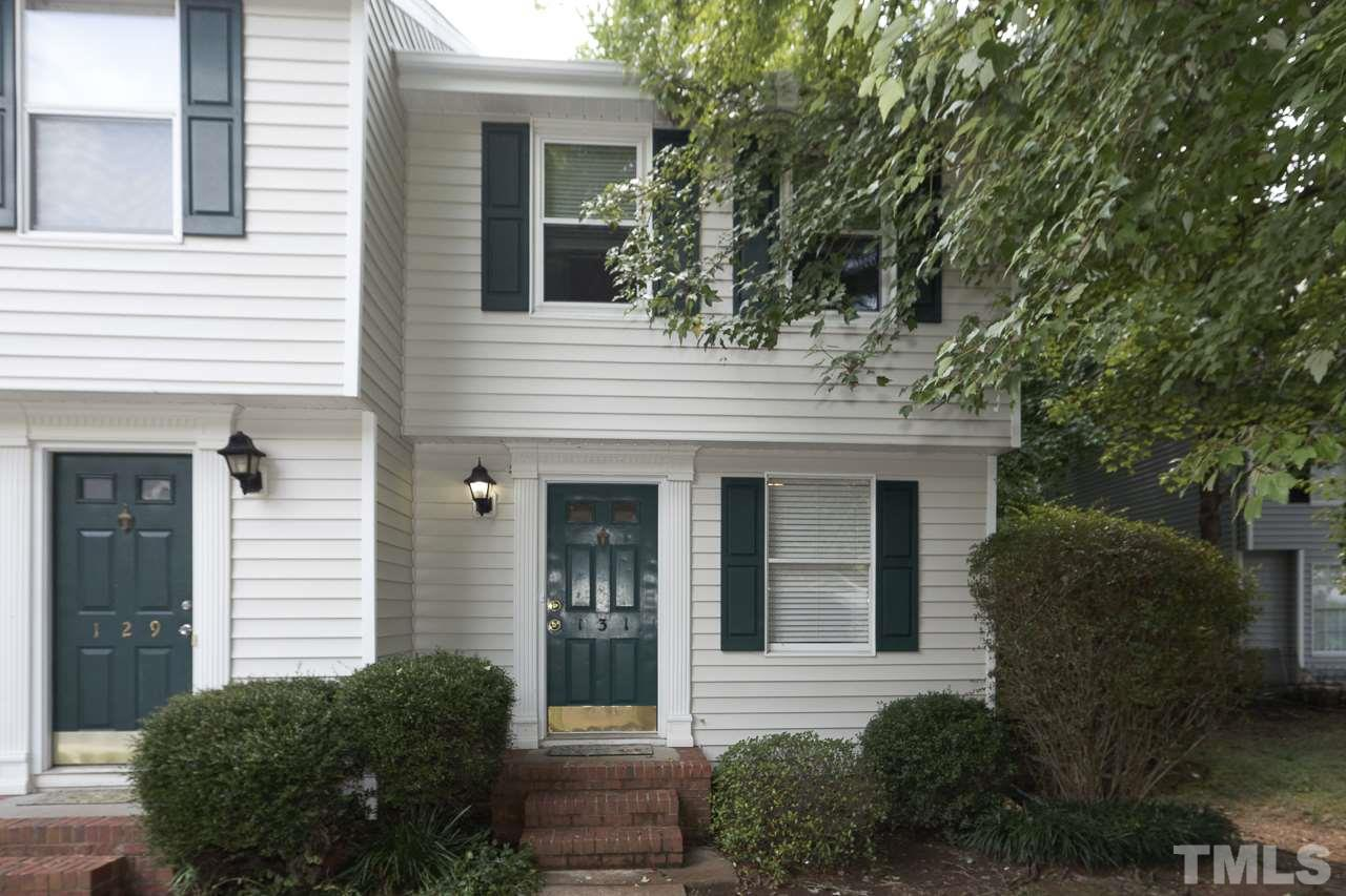 Photo of home for sale at 131 Luxon Place, Cary NC