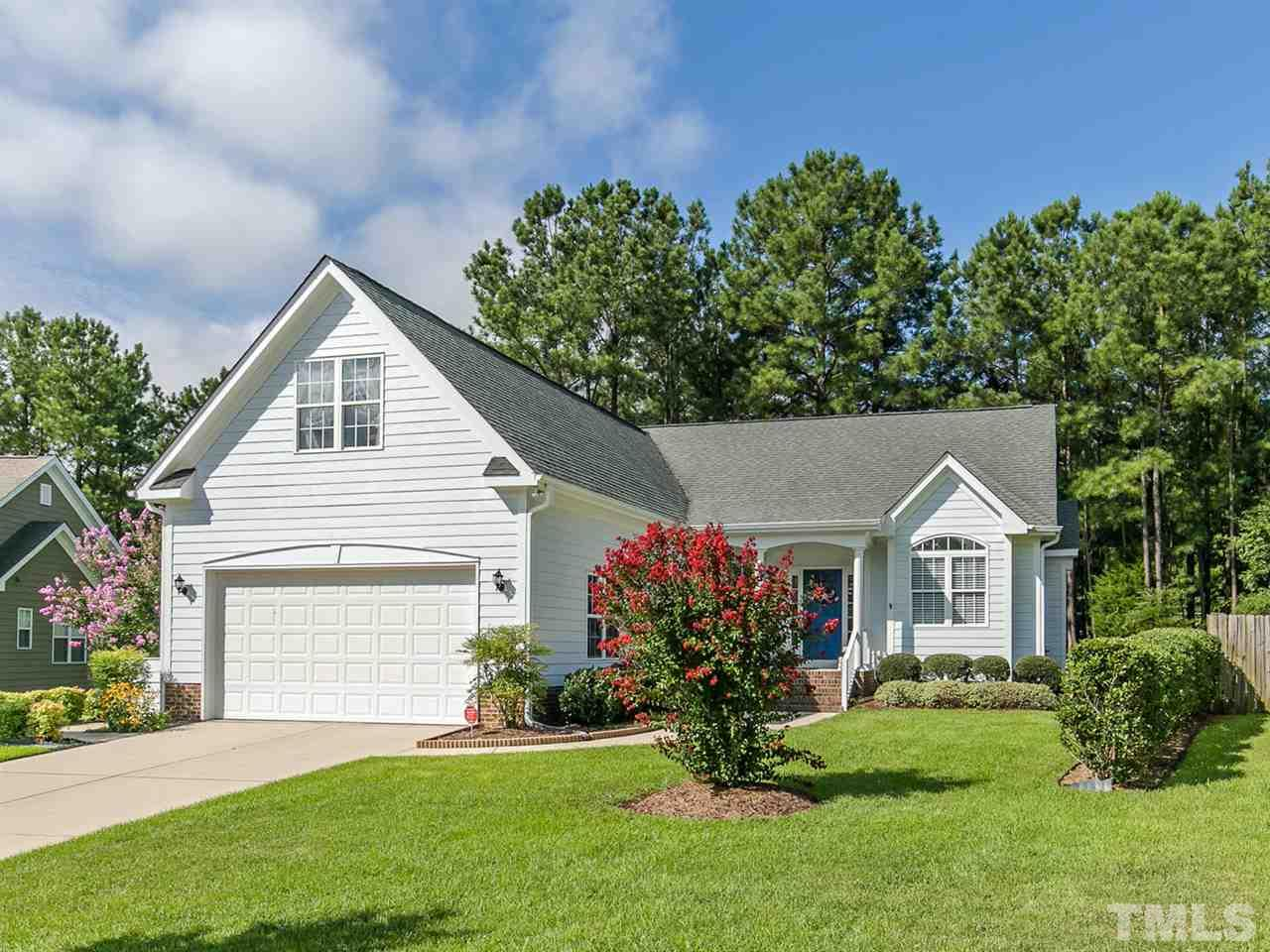 Photo of home for sale at 8509 Battery Crest Lane, Wake Forest NC