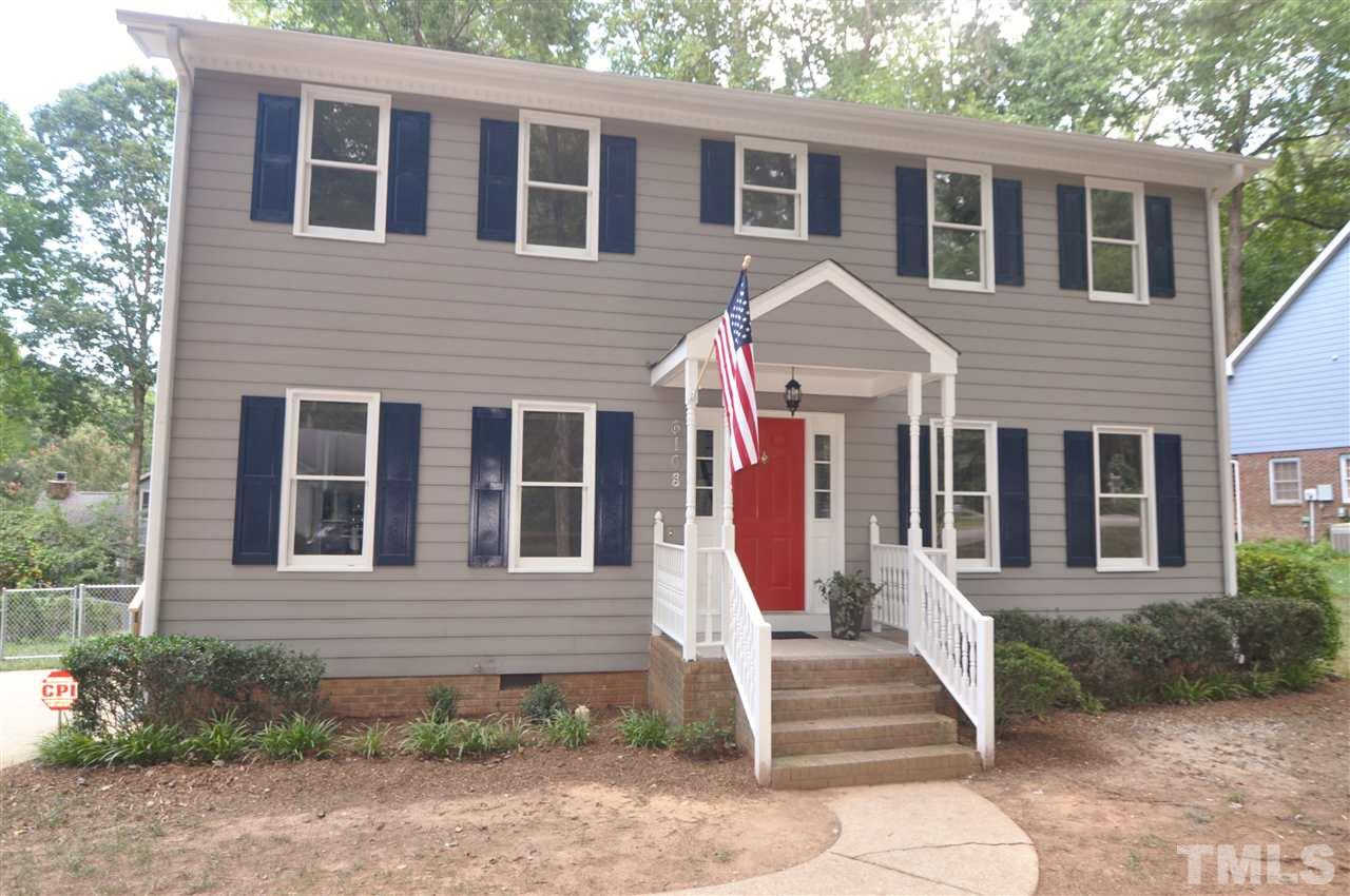 Photo of home for sale at 6108 Ivy Ridge Road, Raleigh NC