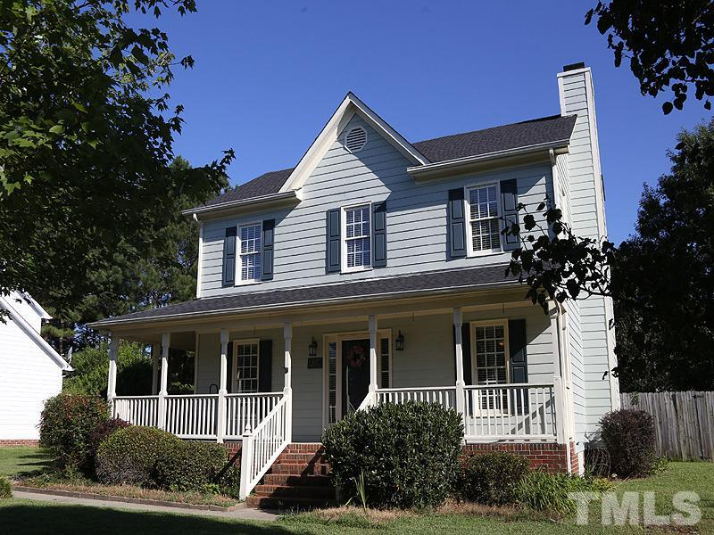 Photo of home for sale at 4137 Mangrove Drive, Raleigh NC