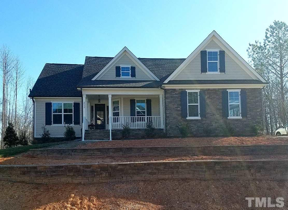 Photo of home for sale at 2840 Kingston Manor Drive, Wake Forest NC