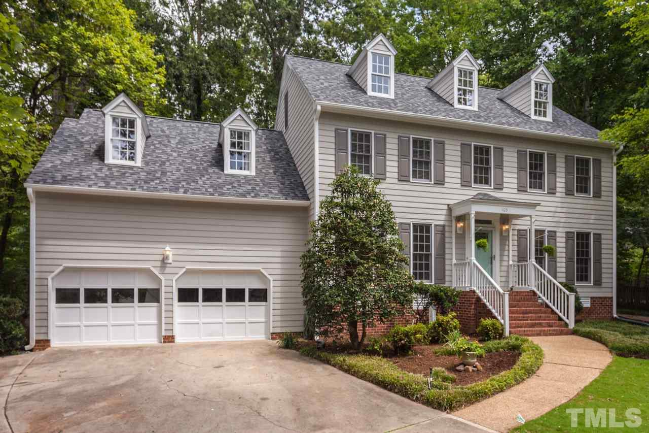 Photo of home for sale at 103 Tolliver Court, Cary NC