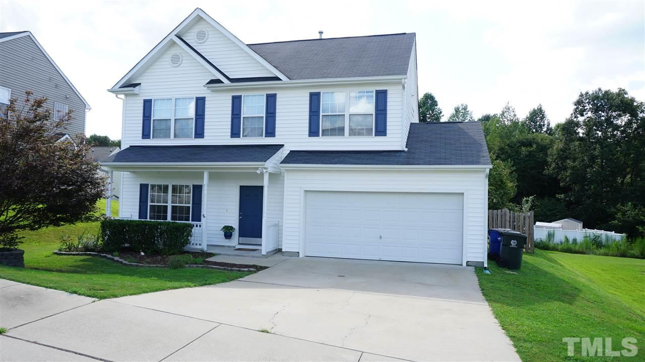Photo of home for sale at 4317 Bay Rum Lane, Raleigh NC