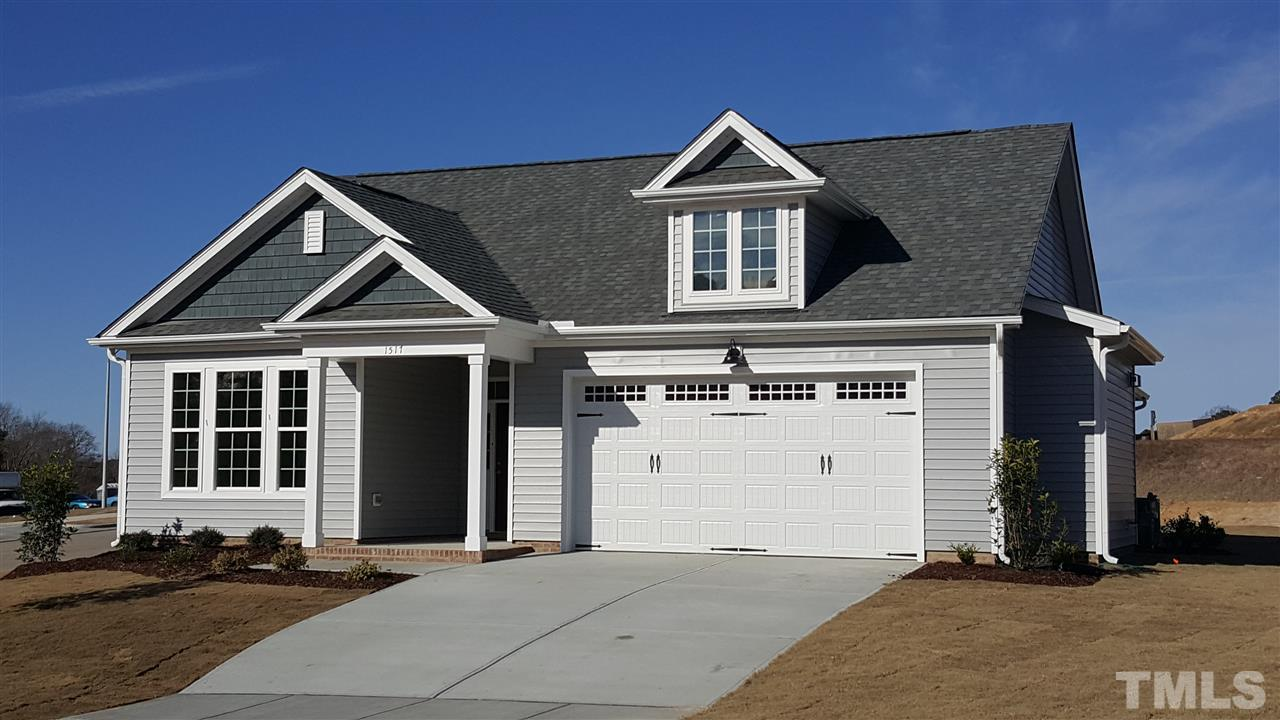 Photo of home for sale at 1517 Sunny Days Drive, Knightdale NC