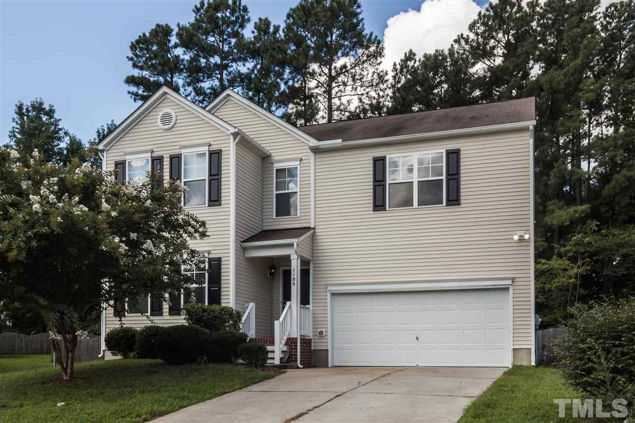 Photo of home for sale at 1180 Summerfield Lane, Creedmoor NC