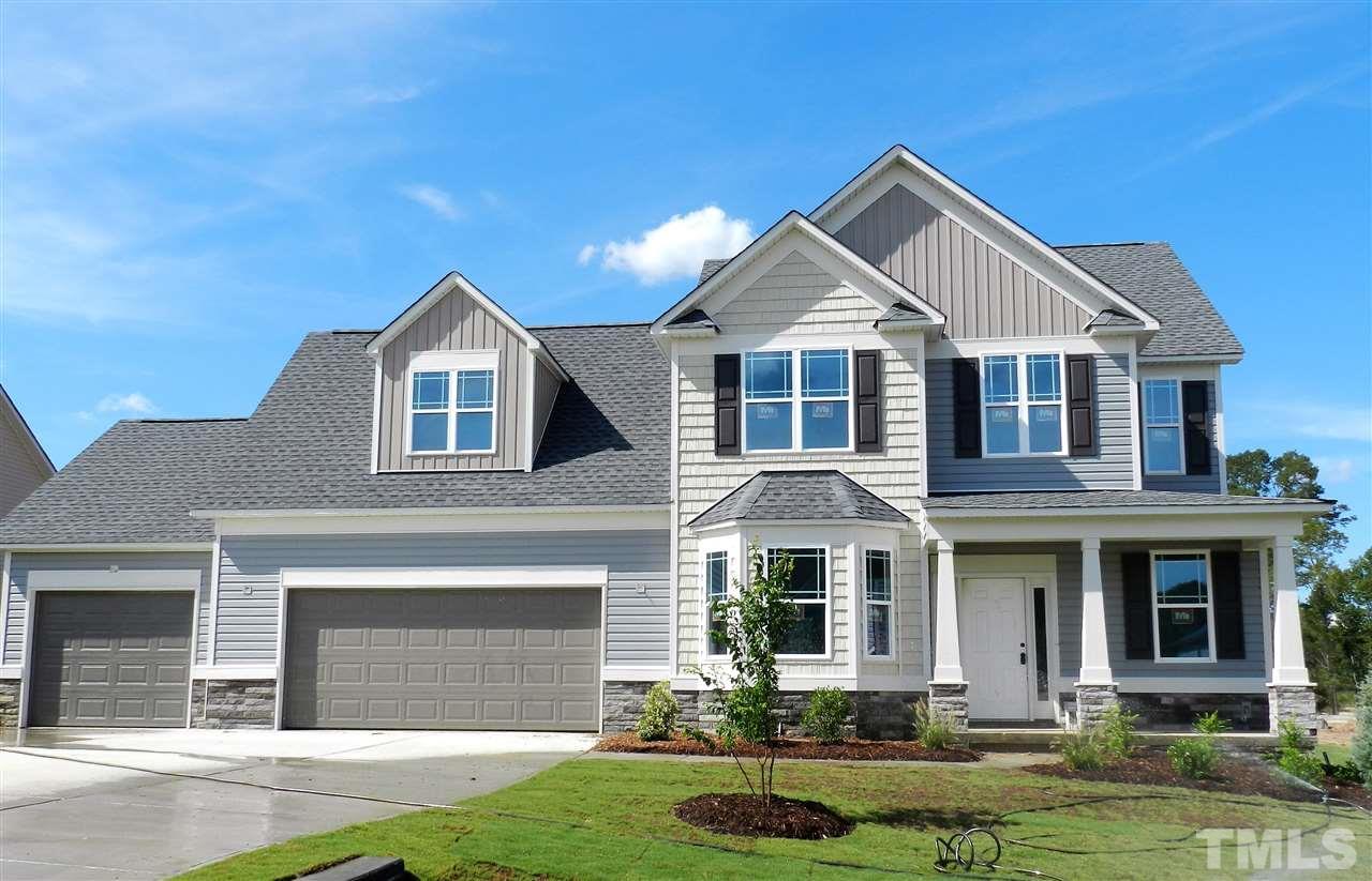 Photo of home for sale at 123 Kaspurr Drive, Garner NC