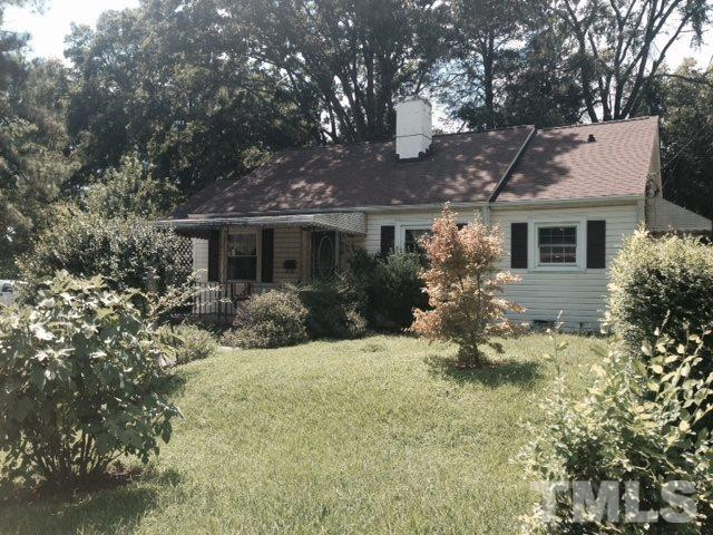 Photo of home for sale at 2501 Banner Street, Durham NC