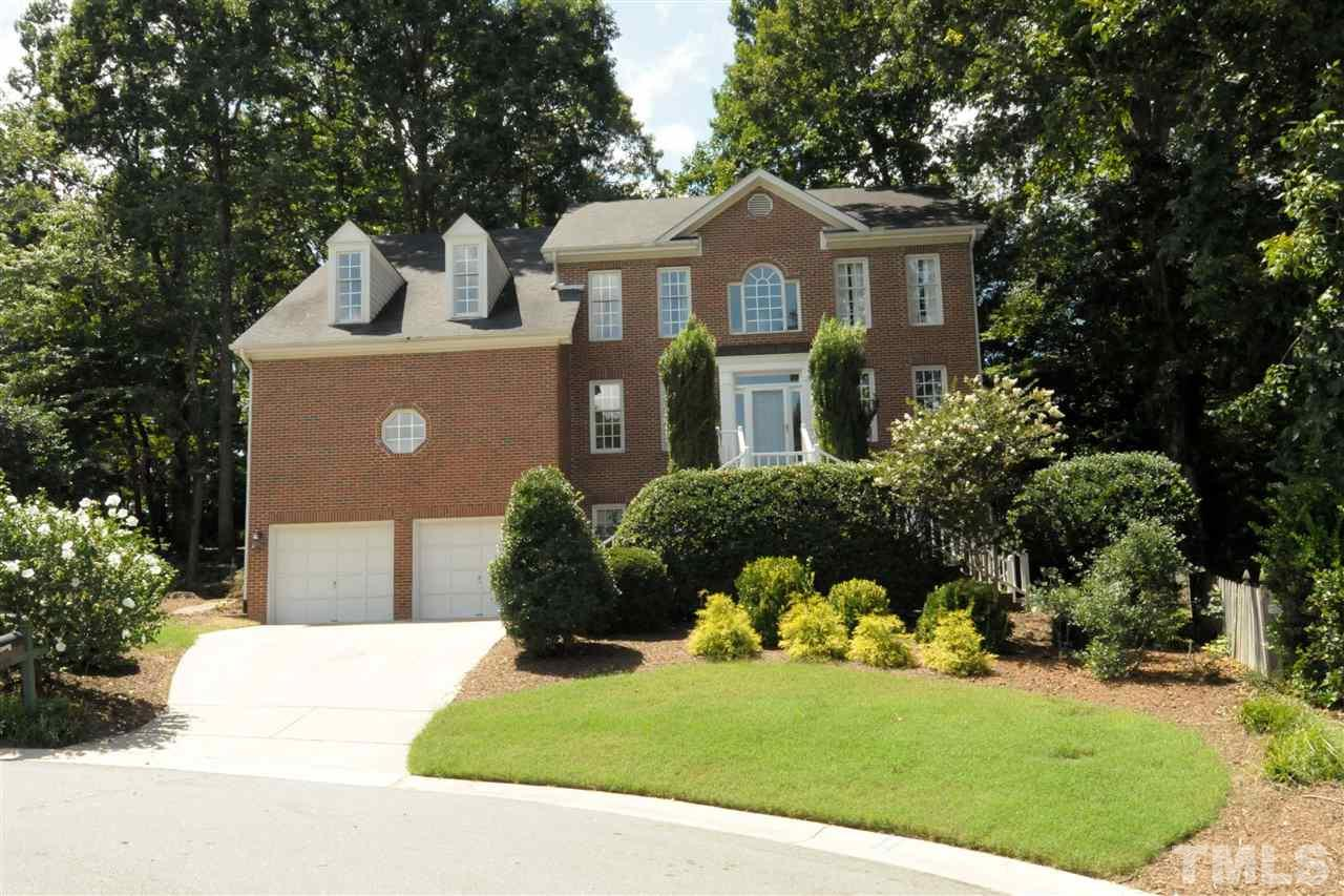 Photo of home for sale at 1905 Fishers Island Court, Raleigh NC