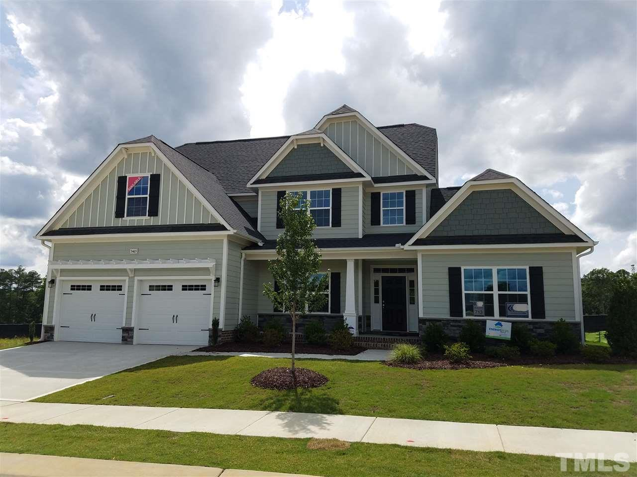 Photo of home for sale at 3465 Jones Lake Road, Fuquay Varina NC