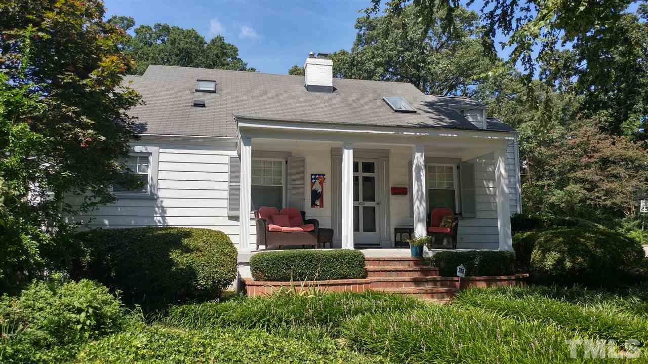 Photo of home for sale at 1609 Carson Street, Raleigh NC