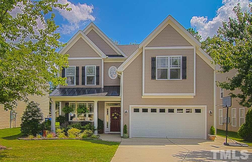 Photo of home for sale at 3140 Landing Falls Lane, Raleigh NC