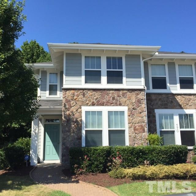 Photo of home for sale at 172 Point Comfort Lane, Cary NC