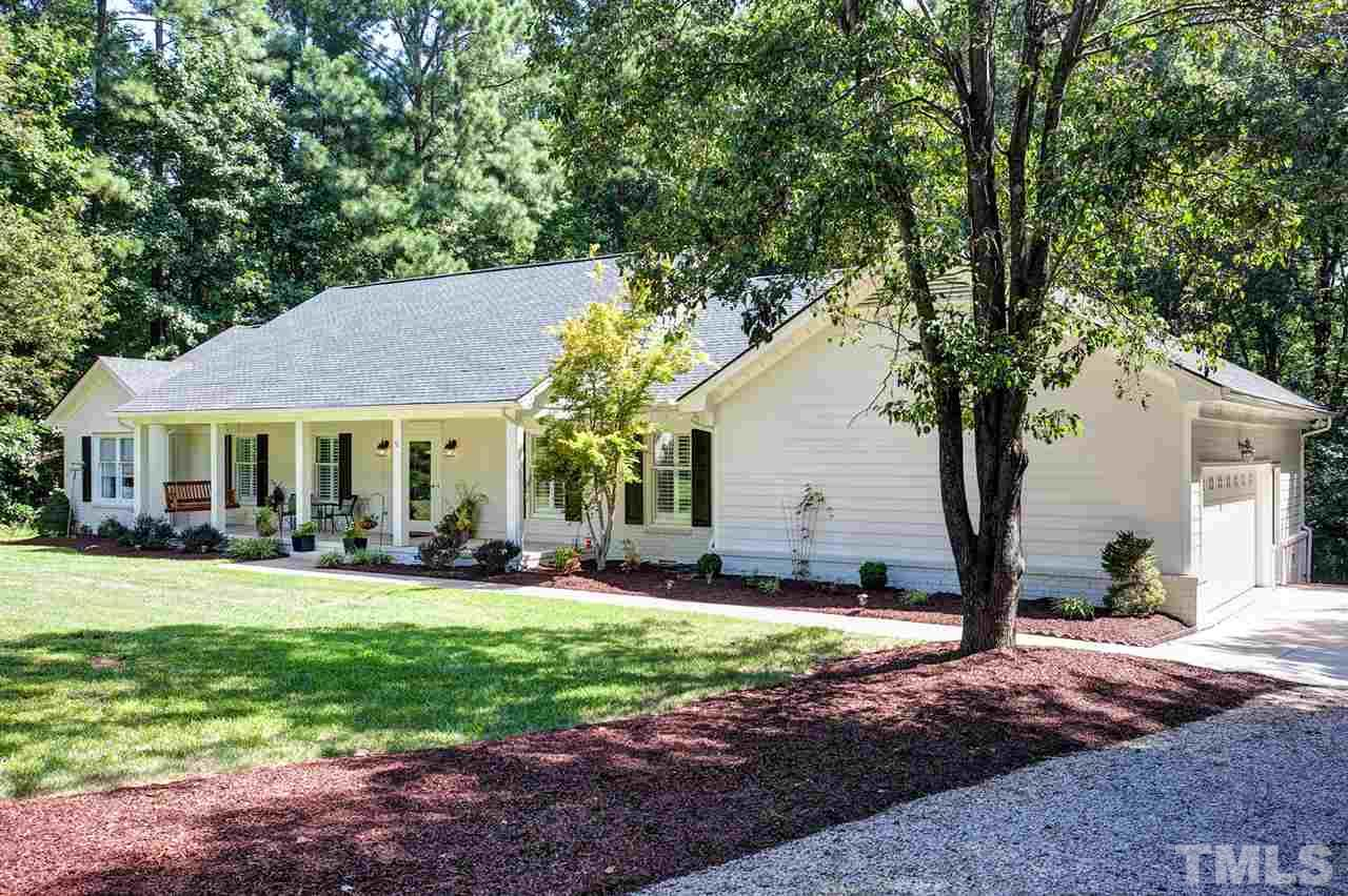 Photo of home for sale at 12608 Scenic Drive, Raleigh NC