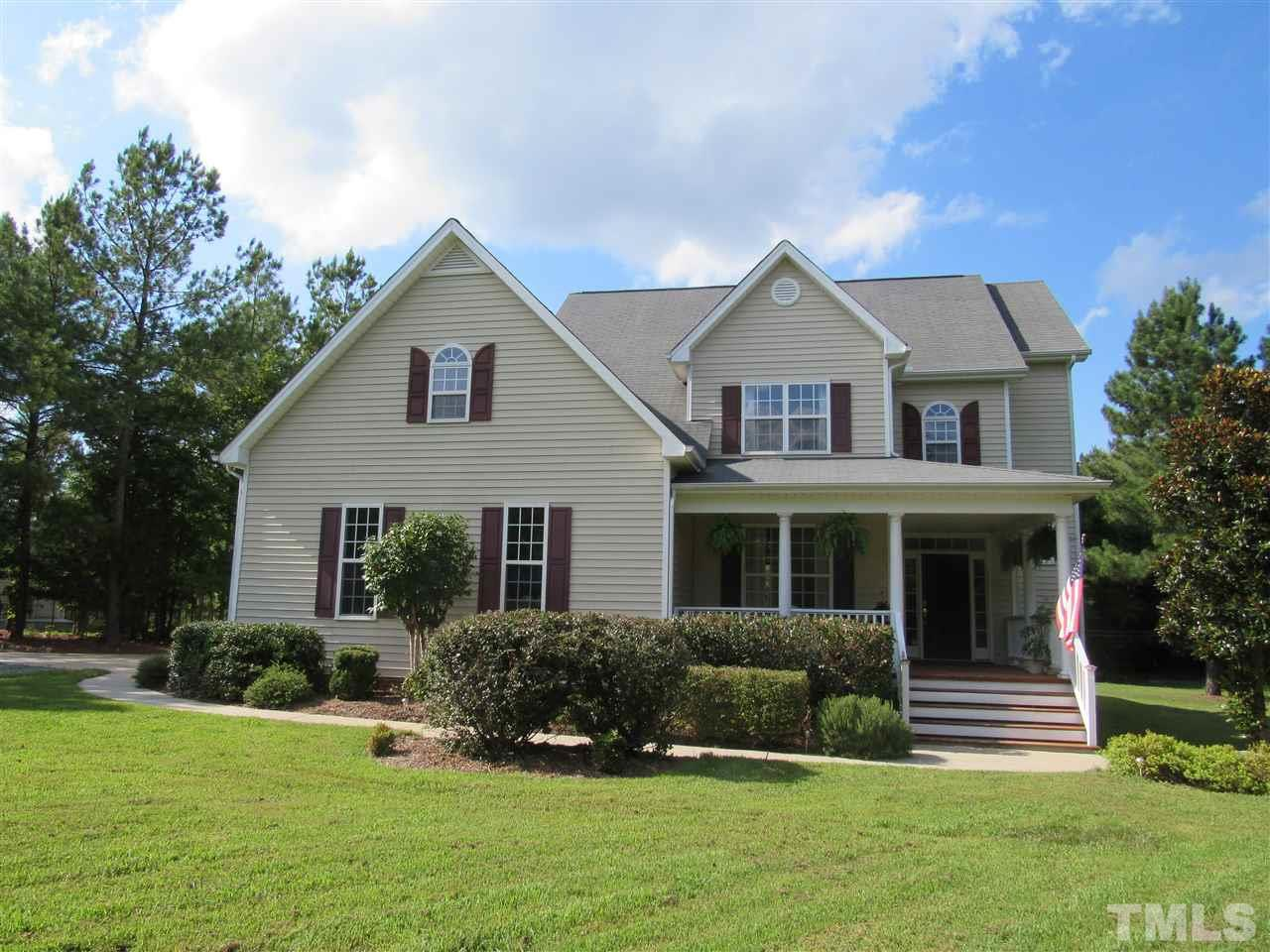 Photo of home for sale at 937 Poplar Forest Lane, Pittsboro NC